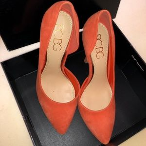BCBG Orange Heel Size :8.5